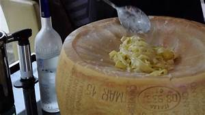 Parmesan Cheese Wheel Pasta Bowl - YouTube