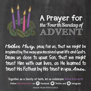 Prayer for the Fourth Sunday of Advent #ouradvent | Daily ...