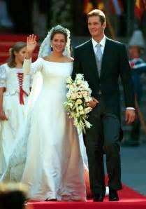 silver bridesmaids dresses the royal order of sartorial splendor wedding wednesday infanta cristina 39 s gown