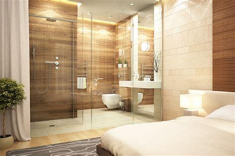 chambre haut de gamme chambre en naturelle parquet design luxe
