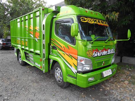 Donloaf Mobil Truk Kanter modifikasi mobil canter jawa dump truck terbaru foto dan