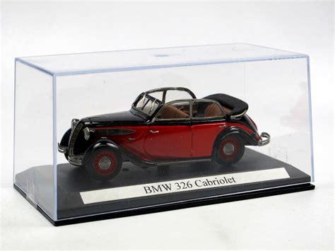 1936 Bmw 326 Cabriolet 4 Trig Rotschwarz 143 Resine