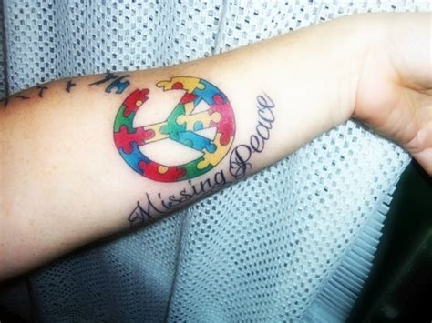 amazing autism awareness tattoos