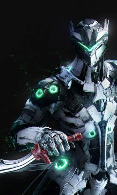 overwatch genji wallpaper hd wallpaper background