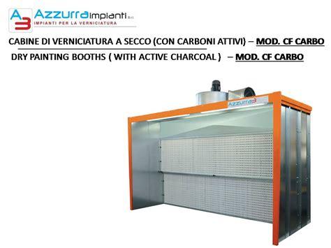 cabine verniciatura a secco cabine di verniciatura a secco azzurra impianti rimini