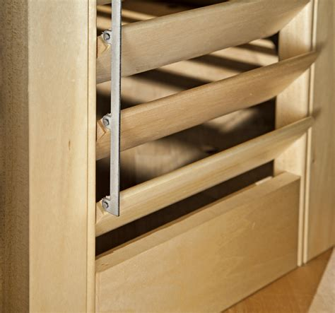 build wooden louvered shutters plans diy
