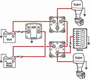 Battery Switch Wiring Diagram Marine : acr and dual battery switches the hull truth boating ~ A.2002-acura-tl-radio.info Haus und Dekorationen