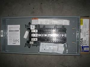 200 Amp Panel Square D