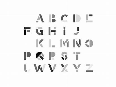 Animated Typeface Fonts Behance Alphabet Animation Typography
