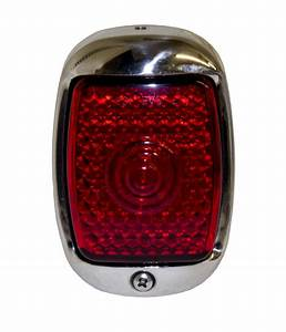 Chevy Parts  U00bb Led Tail Light Assembly  Right Side With Stainless Housing 12 Volt