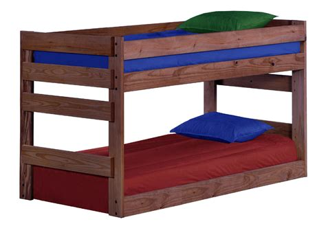 bunk beds pine crafter american made quality furniture bunk beds