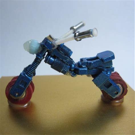 jual mnt04 kerajinan handmade miniatur pajangan mainan koleksi motor unik di lapak won chow xcraft