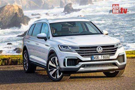 video vw touareg   autobildde