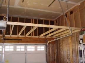 garage construction ideas pictures garage storage loft how to support building