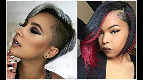 Short Haircuts For Black & African American Women