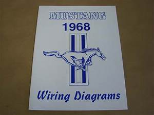 Mlt Wd68 Wiring Diagram For 1968 Ford Mustang  Mltwd68