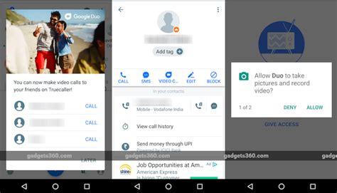 Truecaller for Android Gets Google Duo Video Calling ...