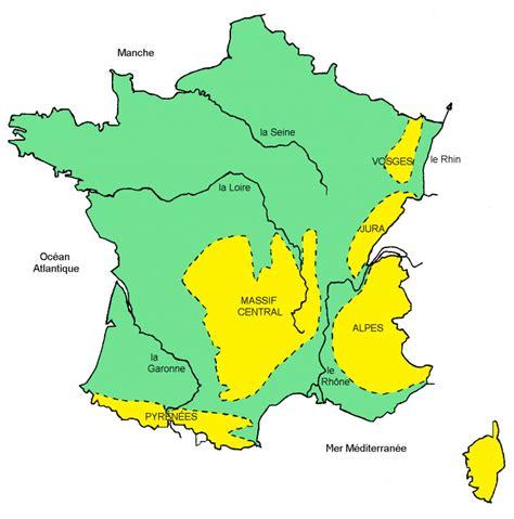Carte Des Fleuves De Et Villes by Infos Sur Villes De Avec Fleuves Et Montagnes
