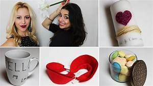 Idée De Cadeau St Valentin Pour Homme : id es cadeaux pour la saint valentin diy youtube ~ Teatrodelosmanantiales.com Idées de Décoration
