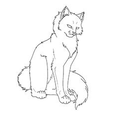 top   printable warrior cats coloring pages