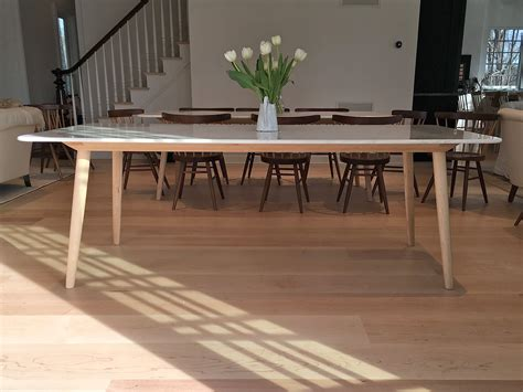 Table Quartz Top by Buy A Made Stella Modern Dining Table Base For A