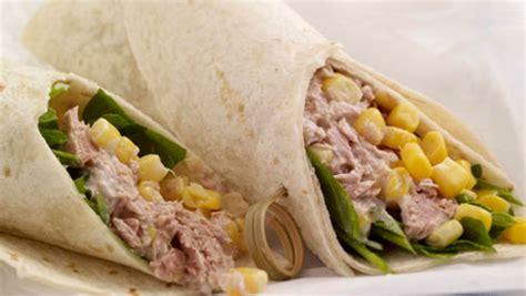 tuna  sweet corn tortilla wrap supervalu