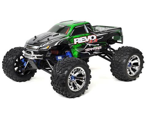nitro monster revo 3 3 4wd rtr nitro monster truck w tqi green by
