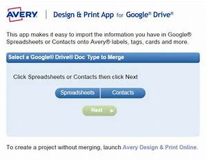 avery launches design print app for google drive With avery design and print app