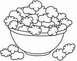 Popcorn Coloring Pages Template Sheet Drawing Kernel Printable Box Colouring Sketch Az Popping Sketches Getdrawings Sketchite Bucket Draw Templates Fruits sketch template