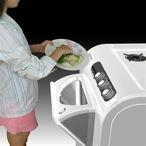 invention cuisine technology stalker save energy and reduce food garbage