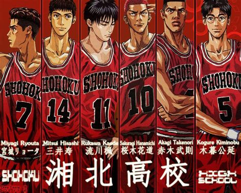 Slam Dunk Anime Wallpaper - slam dunk wallpapers wallpaper cave