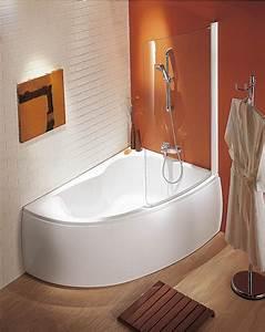 Baignoire Angle Douche : baignoire d 39 angle avec douche salle de bain salle de bain baignoire et baignoire douche ~ Voncanada.com Idées de Décoration