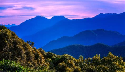 blue, Sky, Purple, Nature, Mountains, Landscape Wallpapers ...