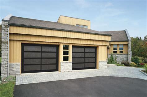 porte de garage toute vitree securitaire garaga