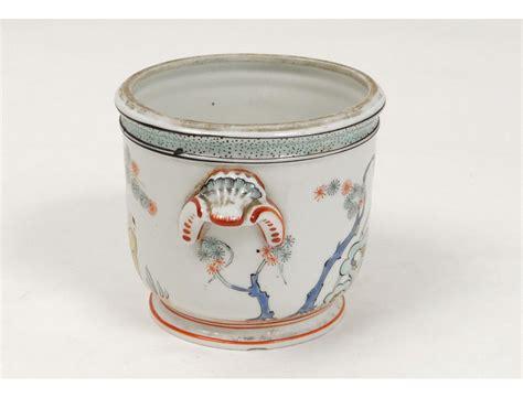 chantilly porcelain pot rare chinese decor tree bird