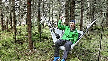 Lay Flat Hammock by Amok Hammock Lets You Actually Lay Flat