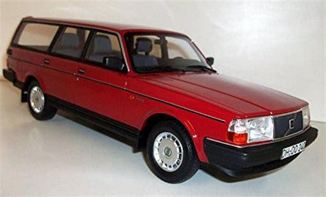 volvo  gl station wagon red  model car ready