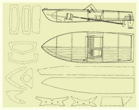 rc wood boat plans plans diy      building