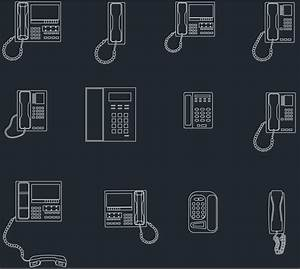 Phones Cad Blocks