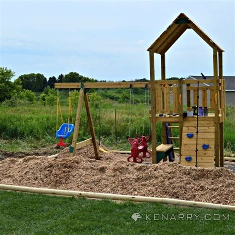 Backyard Playground Ground Cover by Diy Backyard Playground How To Create A Park For
