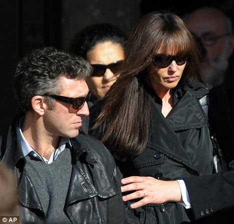 elisabeth depardieu funeral sombre carla bruni joins mourners at funeral of gerard