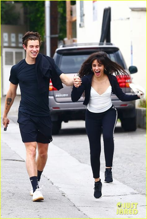 Shawn Mendes Camila Cabello Hold Hands After Brunch