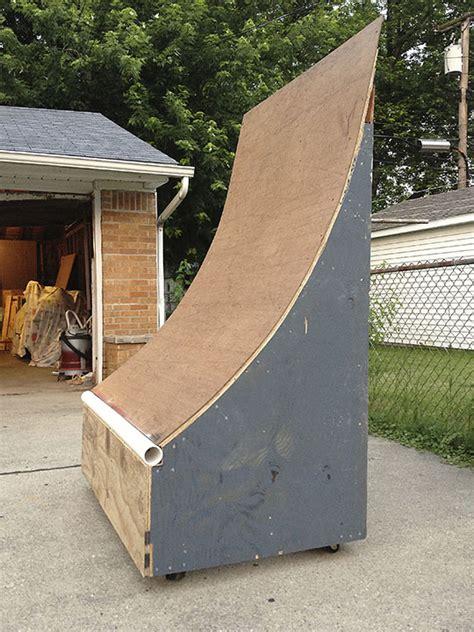 quarter pipe plans  building  playhouse  kids