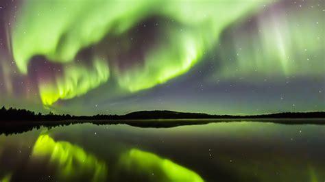 finlande aurores boreales