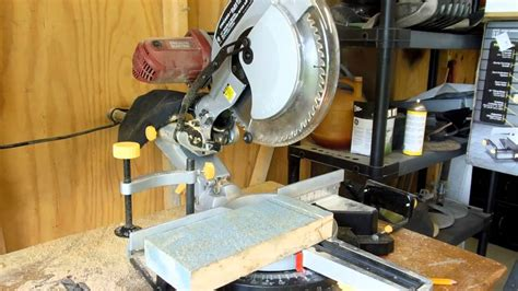 sliding compound miter saw harbor freight 12 quot bevel sliding compound miter saw