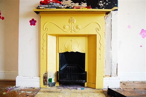 painting cast iron fireplace white how to restore a cast iron fireplace
