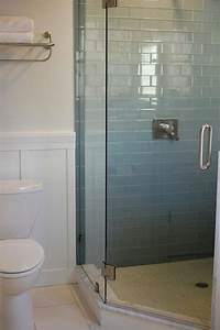 glass tile bathroom Ocean Glass Subway Tile - Subway Tile Outlet