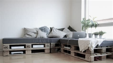 Divano Con Pallet Paint Your Life : Wooden Pallet Furniture Ideas That May Cause Addiction