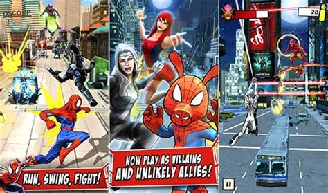 marvel spider man unlimited  apk data android