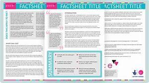 stacy bias design portfolio factsheet template With health fact sheet template
